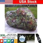 XXL Waterproof Motorcycle Cover For Cafe Racer Bobber Chopper Cruiser Touring US