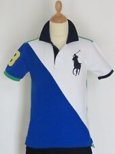 Superbe polo manches courtes Big Pony RALPH LAUREN - Comme Neuf - Taille :10 ans