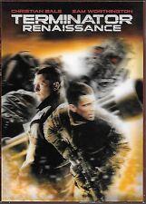 DVD ZONE 2--TERMINATOR RENAISSANCE--BALE WORTHINGTON/MrG