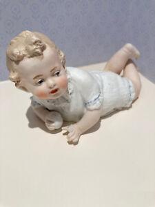 Antique Bisque Piano Baby Heubach ? Cute !