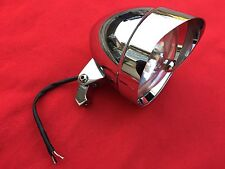 "HARLEY MID-USA V-FACTOR TRI BAR ROCKET 5-3/4"" HEADLIGHT 5.75 SPORTSTER DYNA FXST"