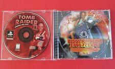 Tomb Raider 2 Starring Lara Croft (Sony PlayStation 1, 1997), w/ Case, Tested