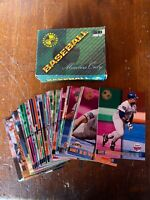1995 Baseball 50 Card Set Topps Stadium Club Members Only Rare Bargain