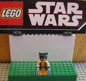 "SUPER HEROES  DC  LEGO LOT MINIFIGURE  MINIFIG  ""  WOLVERINE   6866   """