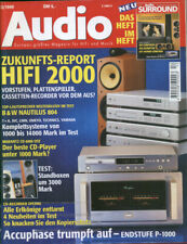 Audio 12/99  Accuphase P-1000, B&W Nautilus 802+804, Philips CDR 9, Advantage