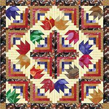 Quilt kit/ Autumn Diamond Batiks/Precut Ready to Sew