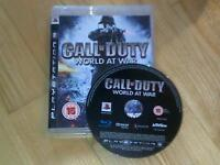 Call of Duty 5 World at War PS3 with zombie mode