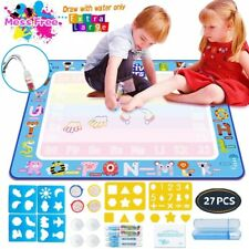 Kids Painting Writing Doodle Drawing Mat Educational Toys for 2 3 4 5 6 Year Old