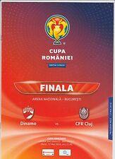 Orig.PRG  Romania Cup  2015/16  FINAL  DINAMO BUCAREST - CFR CLUJ  !!  VERY RARE