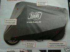 Motorrad Haube Multi-Plus Abdeckhaube Abdeckplane Grau-Schwarz S-L