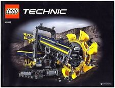LEGO INSTRUCTIONS for Technic BUCKET WHEEL EXCAVATOR # 42055 MANUAL ONLY * NEW *