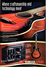 More details for yamaha apx4a acoustic guitar advert - apx electro acousrtic - 1997 advertisement