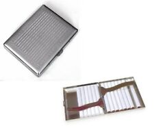 Metal Double Sided King & 100's Cigarette Case Antique Design