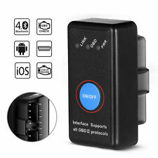 Mercedes C-Class And Android iOS Phone Bluetooth Car Fault Code Reader Tool OBD2