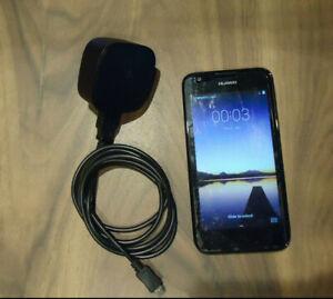 HUAWEI ASCEND Y550 - L 01 4GB BLACK MOBILE SMART PHONE EE TMOBILE VIRGIN WORKING