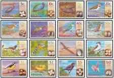 Timbres Oiseaux Bahamas 1070/85 ** année 2001 lot 25464 - cote : 90 €