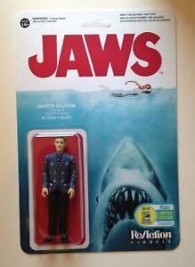 Custom made Jaws ReAction Mayor Vaughn 3 3/4 Action Figure