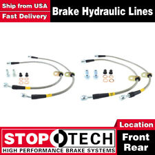Stoptech Front + Rear Stainless Steel Brake Lines For 1997-1999 Toyota Camry