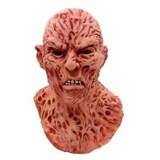 Freddy Kruger Mask Latex Adults Fancy Dress Theme Costume Party Elm Street