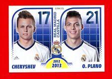 REAL MADRID 2012-2013 Panini - Figurina-Sticker n. 203 -CHERYSHEV-PLANO CASTILLA