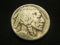 1921-S Key Date  Buffalo Indian Nickel  each additional coin ships free