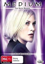 MEDIUM Sixth Season 6 DVD R4 - 5 Disc Set