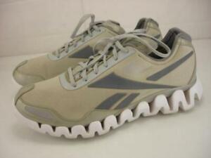 Men's 12 M Reebok ZigTech ZigPulse II Shoes Sneakers Gray Lace-Up Zig Pulse Tech