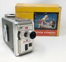 Vintage 1960 Kodak Brownie 8mm Movie Camera No. 77 w/ Original Box