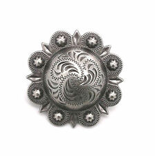 "Berry Concho Antique Silver Screw Back 3/4"" 7863-21"