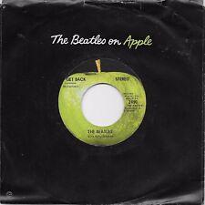 THE BEATLES  Get Back / Don't Let Me Down  original 45 on APPLE label