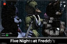 FIVE NIGHTS AT FREDDY'S - SHOW STAGE POSTER - 22x34 VIDEO GAME 14934
