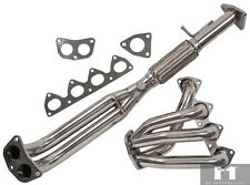 Manzo Performance Stainless Header & Downpipe Combo 1993-1996 Honda Prelude VTEC