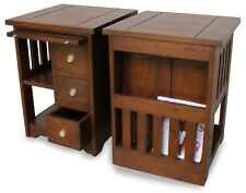 Versatile Solid Mahogany Coffee Table with storage NEW T056