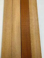 4 Pack Set,  Beautiful Mahogany Lumber - 3/4