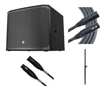 """EV Electro-Voice EKX-18SP Powered Subwoofer 18"""" Active Sub +Pole +Mogami Cable"""