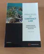 Principles of Contract law by Paterson, Robertson and Duke 3rd Edition