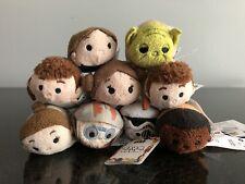 Disney Mini Tsum Tsum Plush Toy Lot Stuffed Dolls Star Wars
