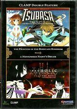 CLAMP Double Feature. Tsubasa:The Movie/xxxHolic:Midsummer Night's Dream. New!