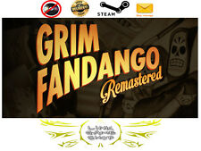 Grim Fandango Remastered PC & Mac Digital STEAM KEY - Region Free