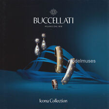 BUCCELLATI Luxury Jewelry CATALOG Hardcover BOOK - Icona Collection - 42 Pages