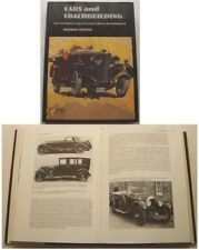 Cars & Coachbuilding 1881-1981 Hooper Barker Mulliner Bentley Rolls Royce +