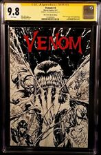 MARVEL Comic VENOM #3 CGC SS 9.8 SPIDERMAN CARNAGE THANOS INFINITY HOMAGE Sketch