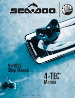 Sea-Doo 2005 4-Tec models Service Shop Repair Manual 219100211 Free Shipping
