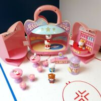 Hello Kitty Roller Disco Candy Shop Carry-Along Case Playset & Figures /U