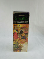 VINTAGE REALISTIC 5 WATT TRC-101B 23 CHANNEL PORTABLE CB TRANSCEIVER W/ BOX