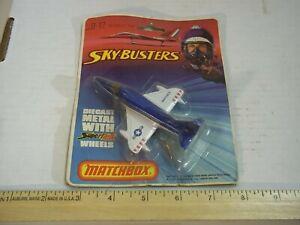Matchbox SuperFast Sky Busters Skyhawk A4F SB12 NOS Un-opened Blue White