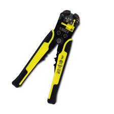 Auto wire stripper pince à sertir pince à sertir électriciens rochet tool cable