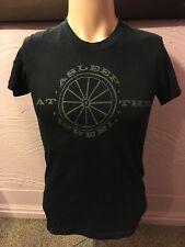 Asleep At The Wheel Wagon Wheel Logo T-Shirt S 70's Country Music
