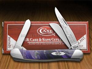 Case xx Medium Stockman Knife Slant Series Purple Passion Corelon 1/2500 S9318PP