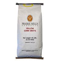 Prairie Mills Yellow Corn Grits (25 lbs.)